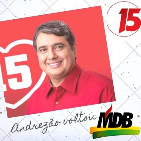O ex-prefeito André Gadelha é candidato a prefeito de Sousa pelo MDB do Senador José Maranhão