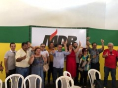 Convenção do MDB de Cabedelo: Pastora Morgana assume diretório e dá o rumo para 2020