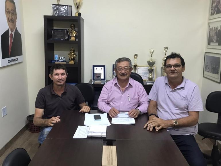 Cuité de Mamanguape: José Inaldo será o prefeitável do MDB e já trabalha pela cidade junto com o senador Zé