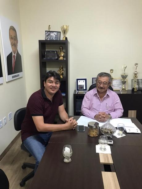 Walter Júnior é o pré-candidato do MDB à prefeitura de Solânea.
