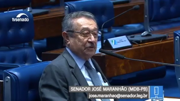 Senador José Maranhão faz apelo aos governos Federal e Estadual pela imediata redução de impostos para reduzir impacto dos altos preços dos combustíveis.